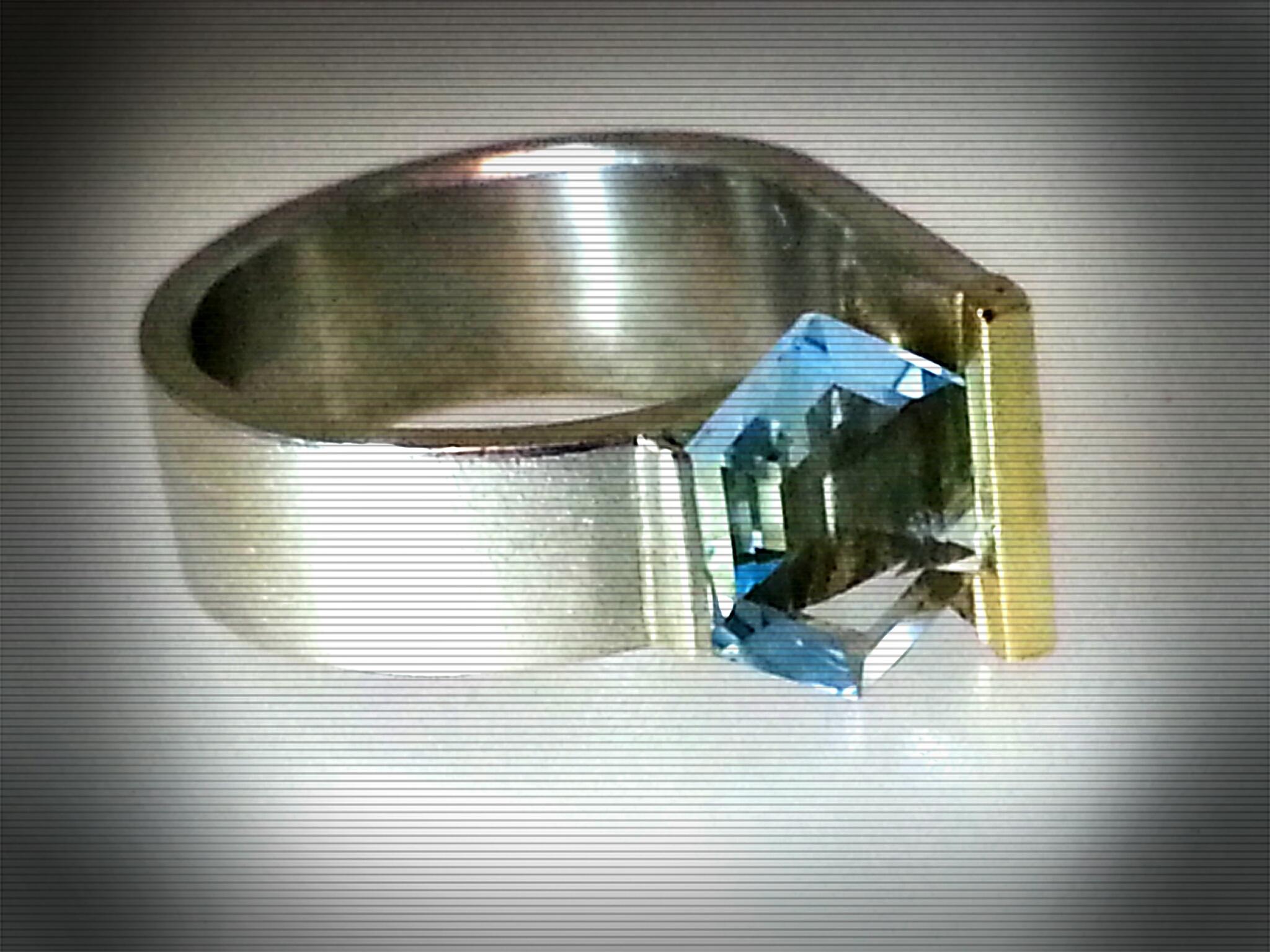Ring Aquamarin bearb.